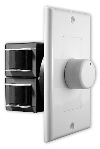 OSD Audio 100W In-Wall Home Theater Speaker Volume Control – Knob Style - SVC100