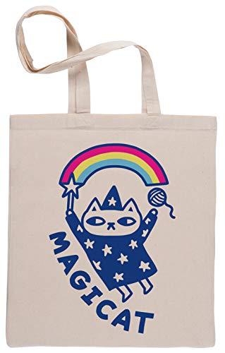 Magicat Cat Magic Bolsa De Compras Shopping Bag Beige