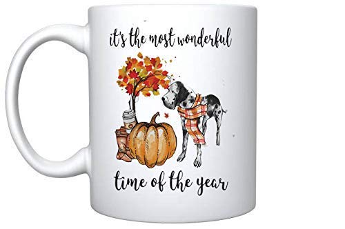 Dalmatian its The Most Wonderful time of The Year s 11 oz Gift Mug