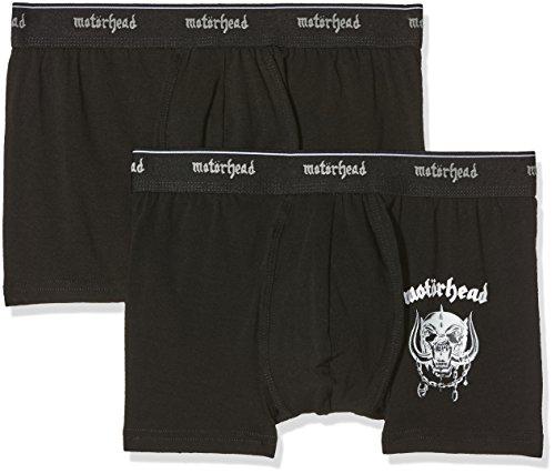 MERCHCODE Herren Motörhead Logo Boxershort Pack Cargo Hose, Black, S