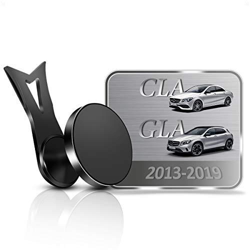 AYADA Soporte Móvil Compatible con Mercedes-Benz CLA X117 C117 GLA X156, Soporte Telefono Nueva Versión 6 Imanes Estable Fácil de Instalar Manos Libres 2013 2014 2015 2016 2017 2018 2019 Acces