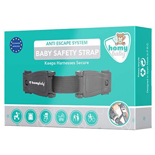 HOMYBABY Babyschutz   Gurtverlängerung Kindersitz   Abschnallschutz Kinder   Verhindert dass das Kind den Gurt aufmacht   Protektor für den Sicherheitsgurt des Autositzes   Gurtschloss Verlängerungen