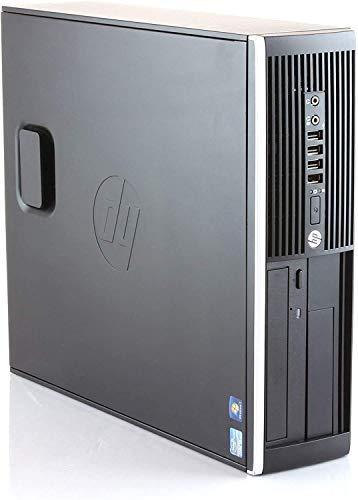 HP Elite 8300 - Ordenador de sobremesa (Intel Core i7-3770, 8GB de RAM, Disco 512GB SSD, Lector DVD,Grafica 2GB, Windows 10 Pro ES 64 Upgrade) (Reacondicionado)