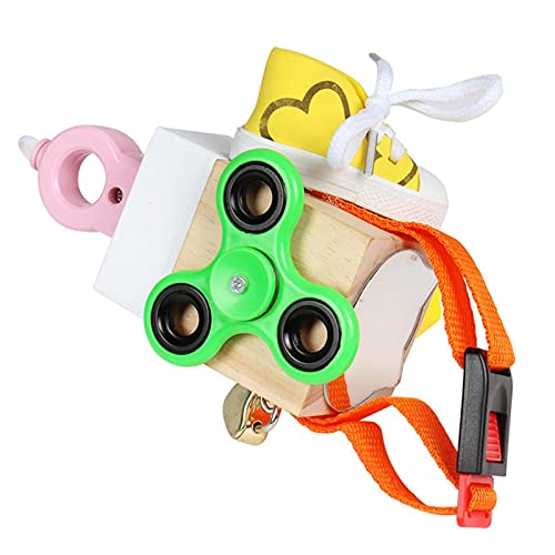 Cubo, juguete del bloque ocupado para los niños de los niños, actividades de madera Actividad, juego Cubo, aprende a atar zapatos, niños juguete de formación temprana