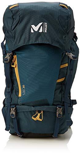 Millet – Ubic 30 – Sac à Dos de Montagne Unisexe – Équipement pour Randonnée et Trekking – Volume Moyen 30 L – Couleur : Bleu/Jaune