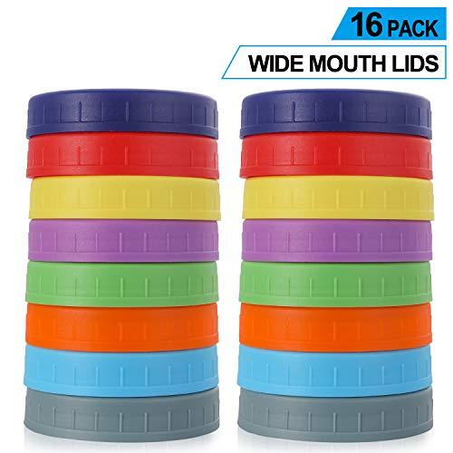 plastic mason jars large - 8