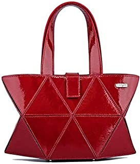 Kaizer KI1808SMARR Shoulder Bag for Women - Leather, Maroon
