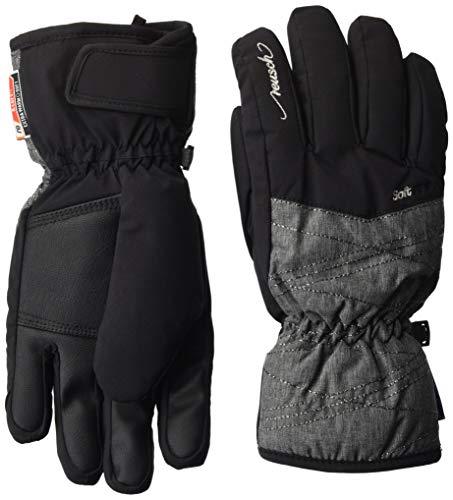 Reusch Aimée R-TEX XT Kinder Handschuhe, Black/Grey Melange/Silver, 6