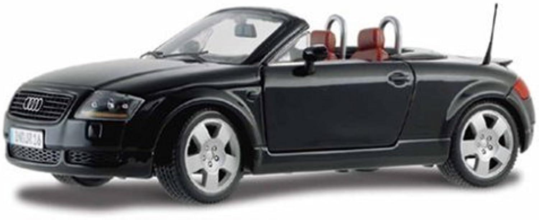 Maisto Die Cast 1 18 Scale Metallic Grey Audi TT Roadster
