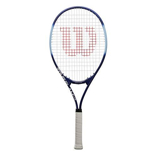 Wilson Tour Slam Lite, WRT30210U3 Racchetta da Tennis, Tennisti Amatoriali e Principianti, Viola/Blu, Manico 2