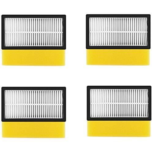 DONGYAO Partes de aspirador Hepa Filter& Filtro de espuma para 1008 Aspiradora Accesorios Filtros de Repuesto para Aspiradora