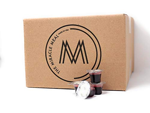 The Miracle Meal | Box of 250 Pre filled communion cups with Grape Juice & Wafer