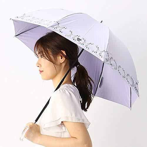 アナスイ(オーロラ)(ANNA SUI) 晴雨兼用傘/軽量1段スライドショート傘/遮光/UV加工/ロゴ刺繍/アナスイ...