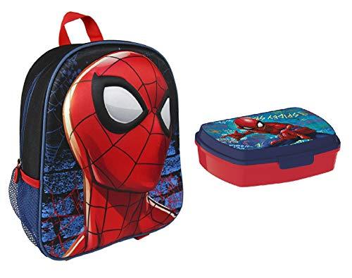 Spiderman Rucksäck - Spiderman Snackbox