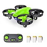 Mini Drone giocattolo telecomandato SP350, 21 minuti, autonomia con 3 batterie, modalità senza...