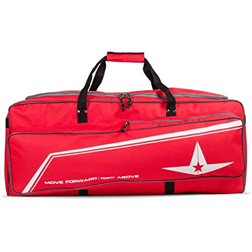 All-Star Deluxe Pro Catchers Bag Scarlet