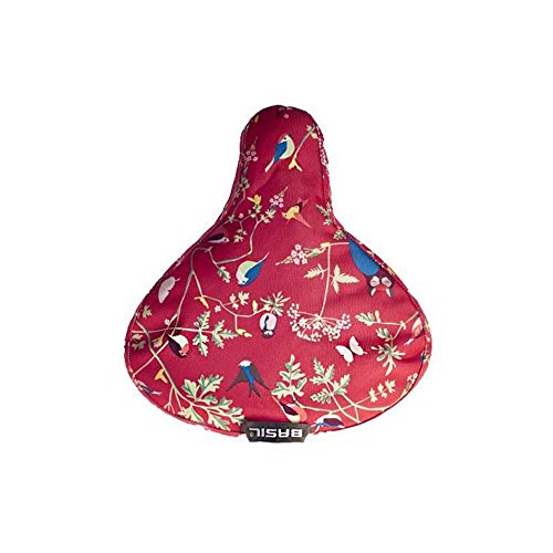Couvre selle Basil Wanderlust - rouge