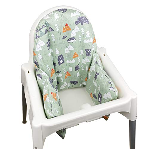 ZARPMA Inflatable Cushion Inner Cover IKEA Antilop Highchair (Cover Only) (Green)
