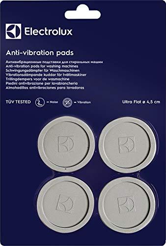 Electrolux E4WHPA02 Piedini Antivibrazione Universali per Lavatrice, Grigio