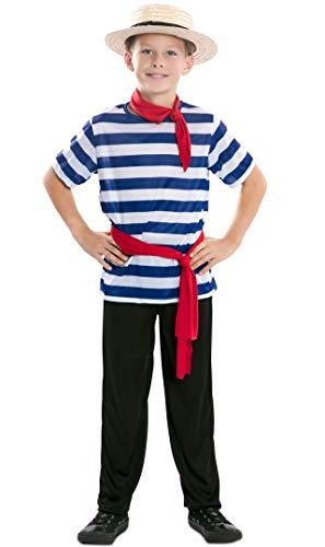EUROCARNAVALES Disfraz de Gondolero para niño