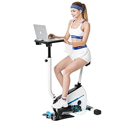 DODOBD Stepper Cardio Fitness- Escaladora Stepper para Usuarios Principiantes y Avanzados con Pantalla Multifuncional, Elipticas de Fitness Profesional Resistencia Infinita Ajustable