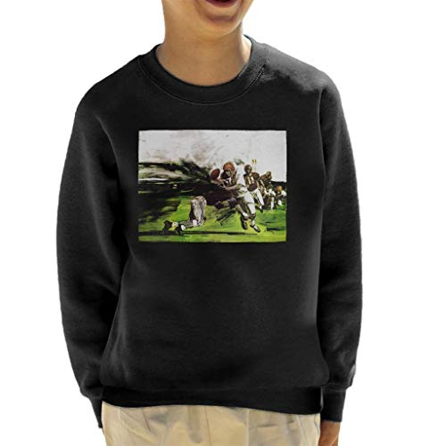 The Saturday Evening Post American Football Tackle Kid's Sweatshirt