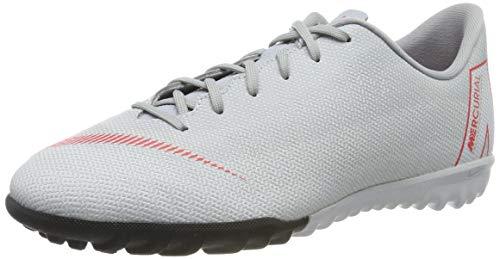 Nike Unisex-Kinder Mercurial VaporX XII Academy TF Fitnessschuhe, Mehrfarbig (Wolf Grey/Lt Crimson/Pure Platinum 060), 35.5 EU
