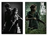 POSTER STOP ONLINE The Last Of Us - Part I & II - Gaming Poster Set (Regular Styles/Game Covers - Version 2) (Size 24 x 36' each)