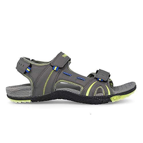 Sandalia Soft Gris Paredes Bandon - Velcro - Talla 38