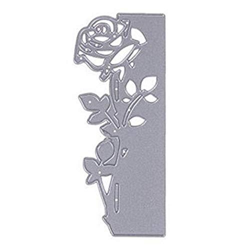 LAVALINK Metallschneiden 3D Rose Blume Die Cuts Schablone Für Scrapbooking Embossing Fotoalbum Dekor DIY Fertigkeit-Geschenk