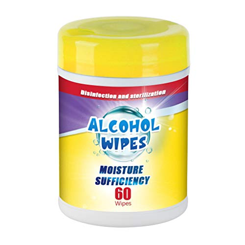 75% ?lcohol Water ?ipes, Wet_Wipes_Baby 60 Sheets/Bag Portable ?isinfection ?ipes (A - 1Pcs)
