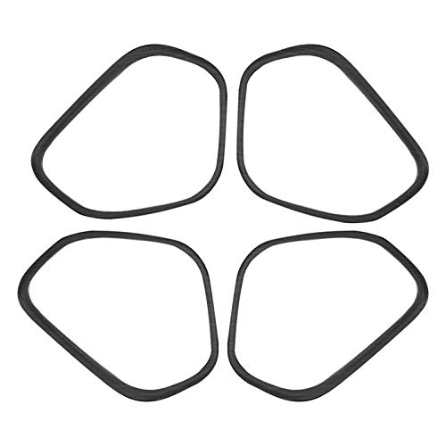 XQRYUB Autolautsprecherdekorationsabdeckung Lautsprecherdekorationsrahmen, Fit fürVolvo XC60 2018 2019 2020