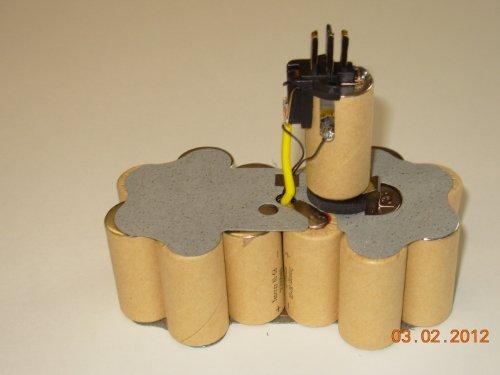 Replacement Battery Kit for Dewalt Dc9096 Xrp, Dw9096 Xr, De9096 18-volt 2200 mAh NiCd