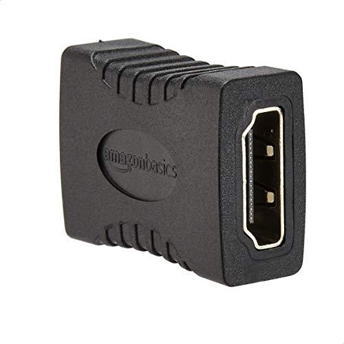 Amazon Basics - HDMI-Adapter, 29 x 22mm, Schwarz
