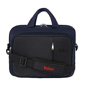TLC MU 4-14 L Office Laptop Sling Messenger Portfolio Bag with Adjustable Strap -TLCMU4O (Blue)