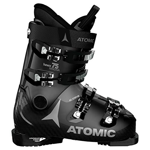 Atomic HAWX Magna 75 W Damen Skischuhe, Schwarz - Schwarz, hellgrau - Größe: 39 EU