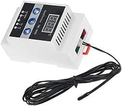 kesoto Thermostat de Fil Contr/ôleur de Temp/érature dAmbiance Plug Intelligent en Plastic avec Capteur 60x45x31mm Multicolore 220V