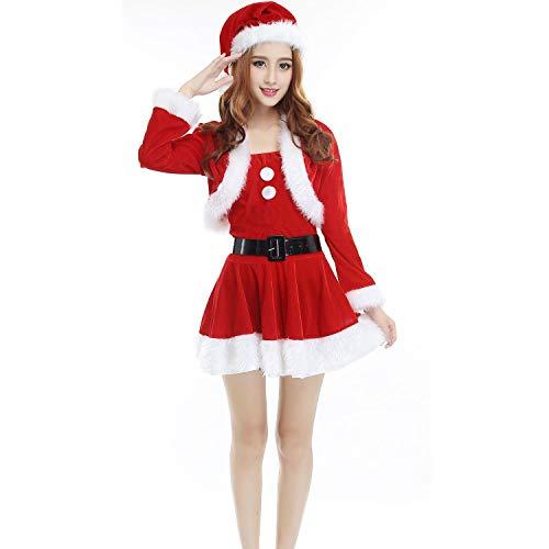 クリスマスサンタ コスプレ衣装 クリスマス コスプレ サンタ 衣装 サンタクロース コスプレ サンタ コスチューム メンズ サンタコスプレ セクシー かわいい メンズ 大きいサイズ 4点セット フリーサイズ