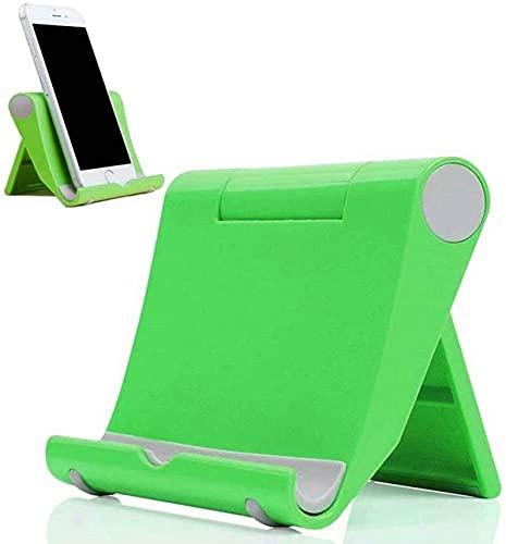 DYIGO Soporte Móvil,Soporte Tablet,para: Todos los teléfonos móviles y tabletas, por Ejemplo: Nokia 6.4 OnePlus 10T Google Pixel 6a Oukitel C23 Pro DOOGEE X96 TCL 10(Verde)