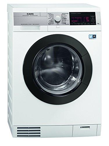 AEG L99695HWD - Secadora de lavado/A -40% A / 1600 rpm/Lavado: 9 kg/Secado: 6 kg/Tecnología de bomba de calor/Motor Silence