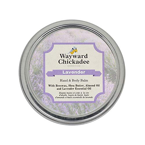 Lavender | Hand & Body Balm - Made with only natural ingredients | Moisturizer Balm with sweet almond oil infused with Camomile and Calendula flowers, Shea Butter and lavender essential oil.
