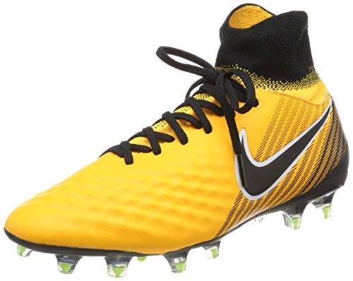 Nike Magista Orden II FG, Botas de fútbol Hombre, Naranja (Laser Orange/Black/White/Volt/White), 44 EU