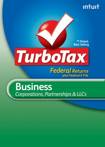 TurboTax Business Federal+ e-File 2010 [Download] [OLD VERSION]