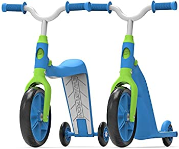 Swagtron K6 Convertible 4-In-1 Toddler Scooter Trike & Training Bike
