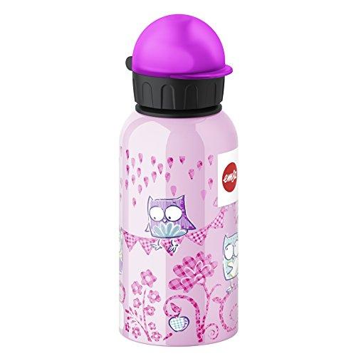 Emsa 514399 Kinder-Trinkflasche, 400 ml, Sicherheits-Verschluss, 100%...