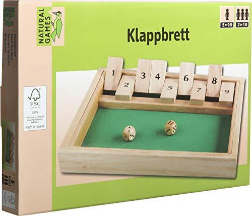 VEDES Großhandel GmbH - Ware 0061058818 Natural Games Klappbrett 27x19 cm