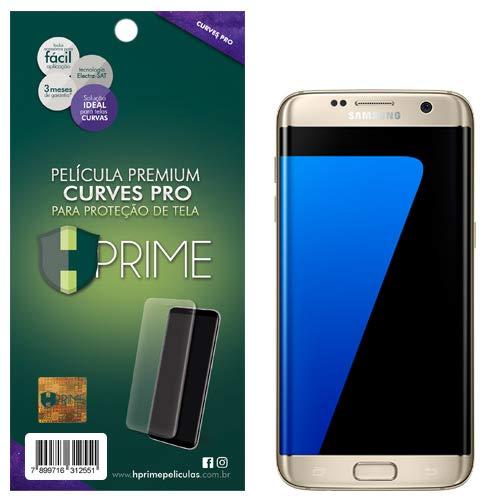Pelicula Curves Pro para Samsung Galaxy S7 Edge, HPrime, Película Protetora de Tela para Celular, Transparente