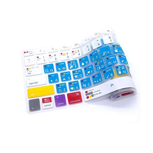 Slim Ableton Live Logic Pro X Avid Pro Tools Shortcut Keyboard Cover Skin For Macbook Pro Air Retina 13 15 17 Before 2016-EUPS Air 11-