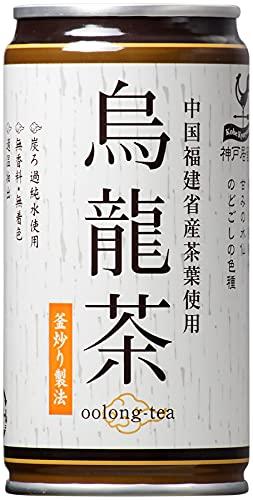 富永貿易 神戸居留地 烏龍茶 185g×30本