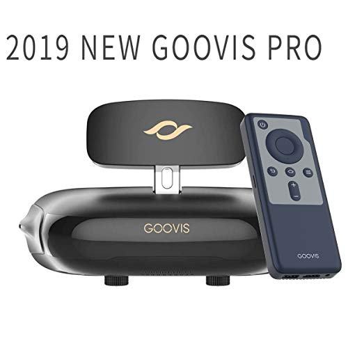 GOOVIS Pro VR Headset 3D Theater Goggles,3D Viewer Support 4K blu-ray Player Sony 1920x1080x2 HD Screen 4K VR Glasses FPV Compatible with Set-top Box DJI Drones PS4 Xbox PC Nintendo Smart Phone